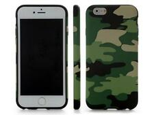 Camouflage Camo Multicolor Soft Silicone Rubber Cover Case For Apple iPhone 6