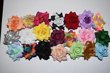 Artificial Silk Rose Flowers Heads Wedding Party bridal Home Decor Wholesale lot