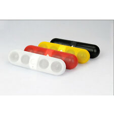 Pill Portable Shockproof Wireless Bluetooth Stereo Speaker For iPhone PC Samsung