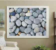 M2M PHOTO ROLLER BLINDS, BLACKOUT PICTURE BLINDS, GRAY PEBBLES