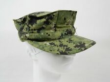 US Navy NWU Type III Eight Point Utility Cap Hat Green Digital 8 Point AOR2