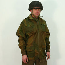 British WW2 Full Zip Denison Smock by Kay Canvas. Replica