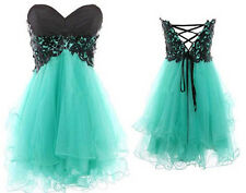 Sweetheart Mini Homecoming Dress Short Cocktail Prom Party Dresses Size2+4+6+8+