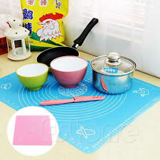 Silicone Rolling Cut Mat Fondant Clay Pastry Icing Dough Sugarcraft Cake Tool