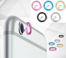 5 color Camera Lens Protective Metal Case Cover Installed Ring Circle for iphone