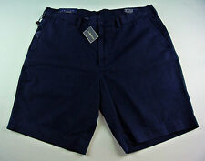 "POLO RALPH LAUREN men's Classic Fit 9"" HUDSON SHORTS Casual Chino NAVY Blue nwt"
