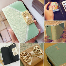 Fashion Wallet Card Holder PU Leather Flip Case Cover For iPhone 6 plus 4 5 5C