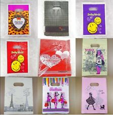 Wholesale New 8Style Lot Pretty Plastic Gift Bag Jewelry Shopping Bags 15x20cm