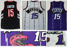 Toronto Raptors #15 Vince Carter Basketball Jersey High Quality Embroidery Retro