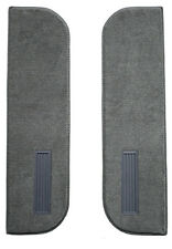 1979-1986 GMC K1500 Door Panel Carpet Inserts on Cardboard With Vents