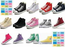 New Classic Men and Women's High/Low Trainer Sneaker All Stars Canvas Shoes