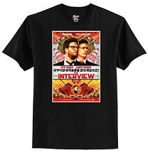 THE INTERVIEW MOVIE POSTER T SHIRT   Have a look, FREE shipping