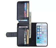 Card Holder Flip Wallet Leather Case Cover For Apple iPhone 4S / 5S / 6 / 6 Plus