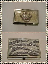 Gorgeous Metal ID&Credit Card Holder Wide Discreet Secure