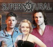 Your picture on a custom T shirt with Sam & Dean from Supernatural!