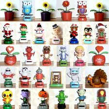 Solar Power Dancing Cupid Valentine Flowers Robot Owl & More! You Choose!  *New*