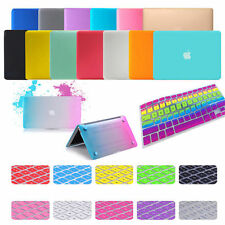 """Laptop Rubberized Hard Case Keyboard Cover For Apple MacBook Air Pro 11.6 13 15"""""""