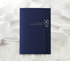 CHO2641,Wedding Party Invitations Luxury Cards 100Sets(cards+envelopes+Seals)