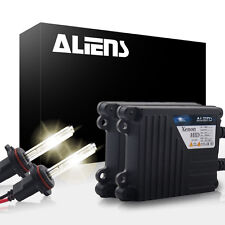 Aliens 35W Slim HID Light Xenon Kit Conversion High Low Fog All Sizes & Colors