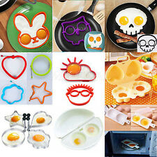 Silicone Funny Fried Frying Egg Mold Pancake Egg Poach Ring Mould Cooking Tool