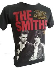 Retro the Smiths T-shirt Rock Music Size S M L XL stones washed black new R-022