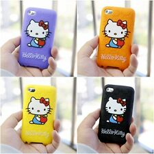 NEW Hello Kitty SILICONE SOFT CASE COVER FITS FOR APPLE IPOD TOUCH 4TH GEN 4