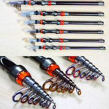 Super Tight Carbon Telescopic Spinning Pole Saltwater Casting Sea Fishing Rods
