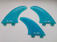Al Merrick template AM3 PERFORMANCE CORE surfboard FINS (set x 3) FCS compatible