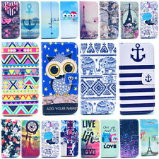 For iphone 6 Plus 5/5S 4/4S Magnetic Wallet Printed Leather Card Flip Case Cover