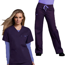 Med Couture Women's Scrub Set Classic Signature (Top Style #8403/Pant #8705)