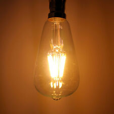 6w LED Filament Squirrel Cage Bulb (E27 / B22) 60w Equivalent