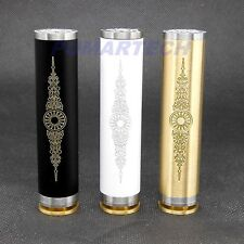 Antigo White Black Brass Mechanical Mod Clone By Pumartech For 18650 Battery