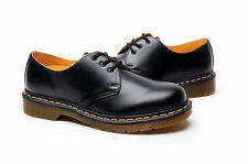 Dr Martens Men's boots Shoes 1461 3 Eye Gibson R11838002 Black Smooth