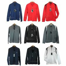 NWT CALLAWAY Golf Opti Series Fleece Men 1/4 Zip Pullover Warm Jacket Sweater