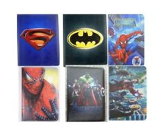 Marvel DC Character Superhero Leather Smart Cover Case For IPad