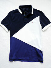 NWT Mens Tommy Hilfiger Custom Fit Short Sleeve Polo