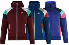Mens New PUMA Windbreaker Track Jacket Tracksuit Top Hoodie - Retro Vintage