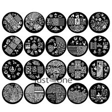 New Pop Design JQ Series Nail Art Image Stamp Stamping Plates Manicure Template