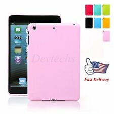 Ultra Slim TPU Gel Silicone Protective Back Case Solid Color for Apple iPad Air