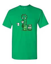 Randy Otter Pickles Toilet Bathroom Tissue Cute Funny Arts DT Adult T-Shirt Tee