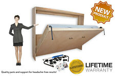 Murphy Wall Bed Horizontal Style Hardware Construction Kit for  Double and Queen