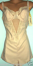 New Dimity So Bra body suit 14D 14DD beige RETRO RN#37600307 RRP$129 ON SALE NOW