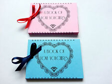 ROMANTIC PRESENT 23 LOVE VOUCHERS Coupons Gift For Him and Her Valentine's Day