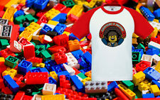 Lego Movie Everything Is Awesome Kids Baby T-Shirt Baseball Ringer Tee Top New