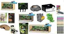 Viv Exotic Viva+ Reptile Vivarium Lizard Snake Gecko Bearded Dragon Full Set Up