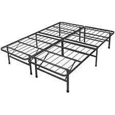 Platform Bed Frame Steel Metal No Box Spring Needed Bed TWIN FULL QUEEN KING NEW