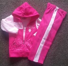 GIRLS KIDS CHILDREN TRACKSUIT HOODIE JACKET OUTFIT CLOTHING GIRL SUITS 2-12YRS