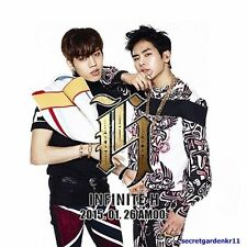 INFINITE H Fly Again OFFICIAL POSTER UNFOLDED IN A TUBE + GIFT PHOTO, New