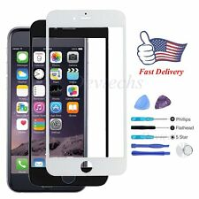"""for Apple iPhone 6 4.7"""" Front Outer Screen Glass Lens Replacement Part Tool Kit"""