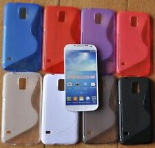 TPU RUBBER CASE COVER S-LINE WAVE SKIN FOR SAMSUNG GALAXY S5